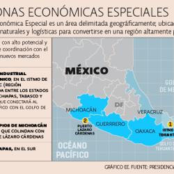Se decretan oficialmente las Zonas Económicas Especiales de Campeche y Tabasco. DOF 18-04-2018
