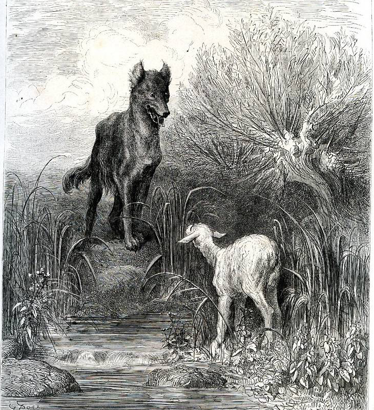 el lobo y el pastorcito sat