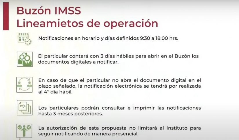 Lineamientos generales para el uso del Buzón IMSS. DOF 09/07/2020